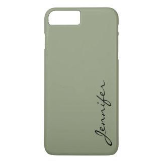 アーティチョーク色の背景 iPhone 8 PLUS/7 PLUSケース