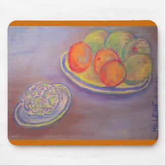 アーティチョーク、オレンジおよびマンゴ マウスパッド