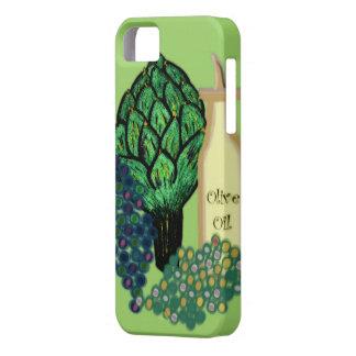 アーティチョーク、ブドウ及びオリーブ油 iPhone SE/5/5s ケース