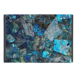 アートで抽象的な曹灰長石のミネラル石の宝石の箱 iPad MINI ケース
