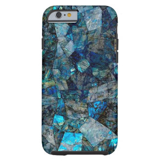 アートで抽象的な曹灰長石の宝石のiPhone 6/6sの場合 ケース