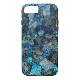 アートで抽象的な曹灰長石の宝石のiPhone 7の場合 iPhone 7ケース