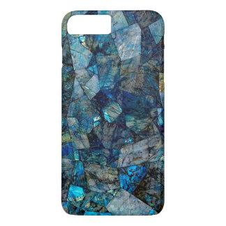 アートで抽象的な曹灰長石のiPhone 7のプラスの場合 iPhone 7 Plusケース