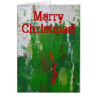 アートなクリスマスカード! カード