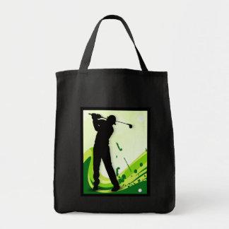 アートなゴルフプレーヤー トートバッグ