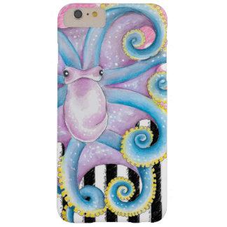 アートなタコのピンク BARELY THERE iPhone 6 PLUS ケース