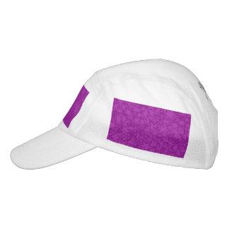 アートな紫色の星 ヘッドスウェットハット