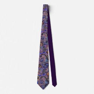 アートな薬剤師の省略のタイの紫色 カスタムネクタイ