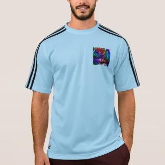 アートな虹のトラ Tシャツ