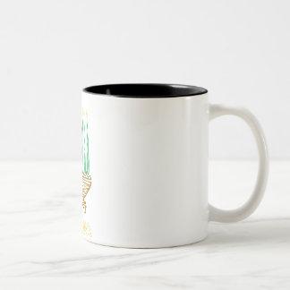 アートなKwanzaa ツートーンマグカップ