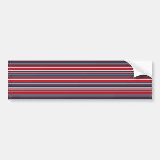アート愛国心が強い赤い白くでおよび青縞で飾ります バンパーステッカー