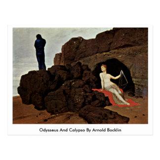 アーノルドBocklin著オデュッセウスそしてカリュプソー ポストカード