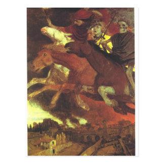 アーノルドBöcklin著戦争 ポストカード