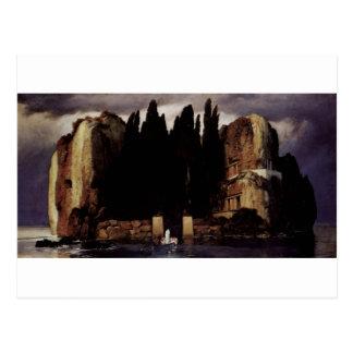 アーノルドBöcklin著死者の島 ポストカード