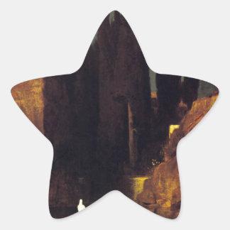 アーノルドBöcklin著死者の島 星シール
