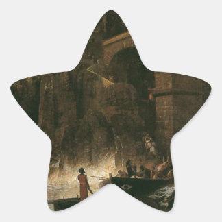 アーノルドBöcklin著海賊による攻撃 星シール