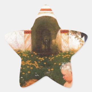 アーノルドBöcklin著Vitaのsomniumのブレーヴェ 星シール