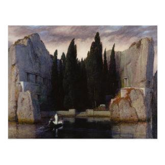 アーノルドBöcklin -死者の島 ポストカード