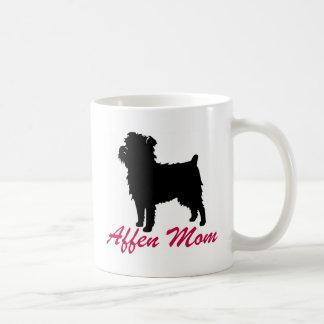 アーフェンピンシャーのお母さん コーヒーマグカップ