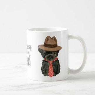 アーフェンピンシャーのパパ コーヒーマグカップ