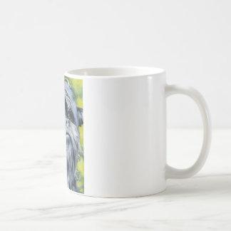アーフェンピンシャーのマグ コーヒーマグカップ