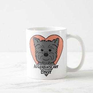 アーフェンピンシャーの恋人 コーヒーマグカップ