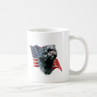 アーフェンピンシャーの旗 コーヒーマグカップ