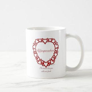 アーフェンピンシャーの本当愛 コーヒーマグカップ