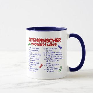アーフェンピンシャーの特性の法律2 マグカップ