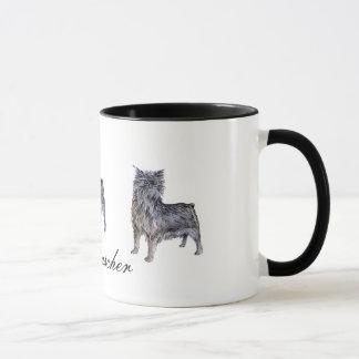 アーフェンピンシャーの陶磁器のマグ マグカップ