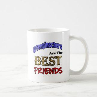 アーフェンピンシャーは親友です コーヒーマグカップ