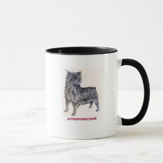 アーフェンピンシャー犬のマグ マグカップ