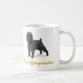 アーフェンピンシャー、沢山の犬の恋人 コーヒーマグカップ
