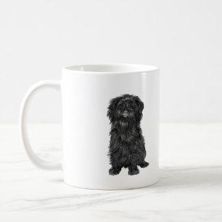 アーフェンピンシャー(a) -黒 コーヒーマグカップ