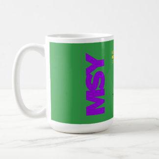 アームストロングニュー・オーリンズ空港(MSY)図表のマグ コーヒーマグカップ