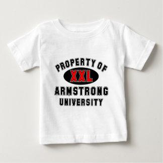 アームストロング大学の特性 ベビーTシャツ