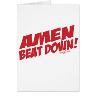 アーメンBeatdown R カード