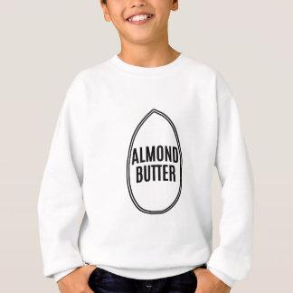 アーモンドの中のアーモンドのバター スウェットシャツ