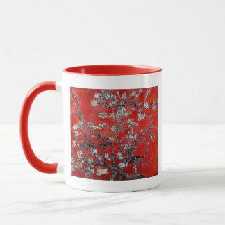 アーモンドの花が付いているフィンセント・ファン・ゴッホの枝 マグカップ