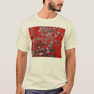 アーモンドの花が付いているフィンセント・ファン・ゴッホの枝 Tシャツ