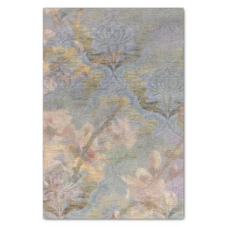 アーモンドの花のタペストリーのギフトのティッシュの垂直 薄葉紙