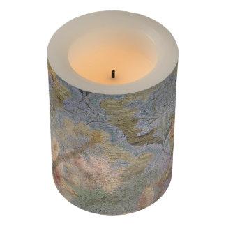 アーモンドの花のタペストリーの蝋燭及び覆い LEDキャンドル
