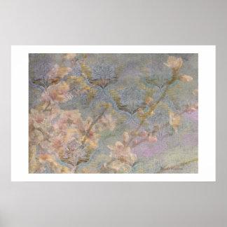 アーモンドの花のタペストリーポスター ポスター