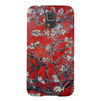 アーモンドの花の赤のフィンセント・ファン・ゴッホの枝 GALAXY S5 ケース