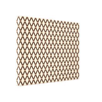 アーモンドダイヤモンドブラウンはキャンバスプリントを組み立てます キャンバスプリント