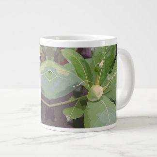 アーモンド木のクローズアップ ジャンボコーヒーマグカップ