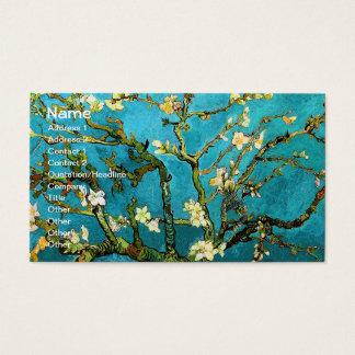 アーモンド木のゴッホの活気付くファインアート 名刺