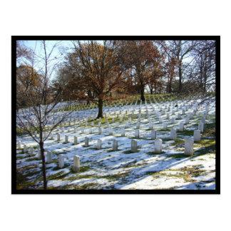 アーリントンの雪 ポストカード