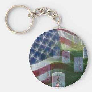アーリントン国立墓地、米国旗 キーホルダー