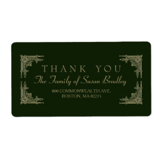 アールデコのスタイル2家族はラベル感謝していしています ラベル